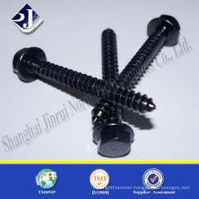 black zinc gr8.8 wooden screw