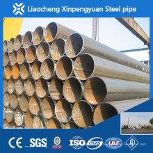 Tubulure de 500 mm de gros diamètre, tuyau en acier sans soudure, tuyau en acier ms