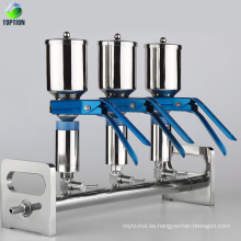 Filtros de membrana científicos multivac 47mm Filtros de filtración de laboratorio