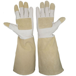 Latex -made Cleaning Sponge Finger Cleaning Gloves