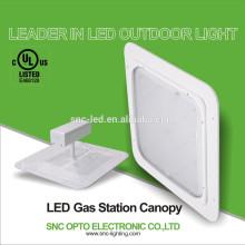 AC100-277v cUL approved 145lm/w led gas station light