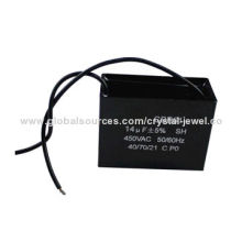 CBB61 Plastic Capacitor Shell with Foot 14uF, Small Size, Reliable Performance and Long Endurance
