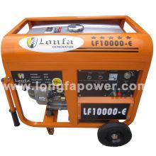 7.5 / 8.2kVA 220V África do Sul Lonfa gerador de gasolina Home portátil