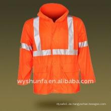 Hallo Sichtbarkeit Warnung Reflektierende ANSI EN471 Jacke