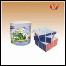 YongJun miroir bloque bump magic puzzle cube éducatif puzzles cubes plastique argent boîtes de rangement