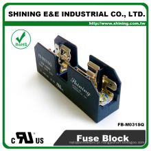 FB-M031SQ Aprovado UL Equal To Bussmann 1 Pole 30A Bloco de fusíveis de cerâmica