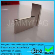 Ímã do bloco da terra rara de JML15W8T2 para a venda