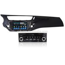 Octa-core 6.0 / 7.1! Kaier 7 '' Lecteur DVD de voiture pour Citroen C3 DS3 avec fonction 4G carte de navigation Radio carte