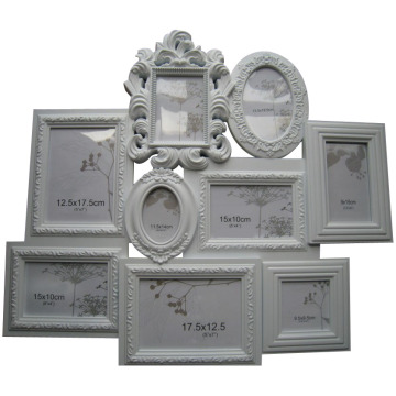 new design 9 opening plastic collage frame bilderrahmen cadre