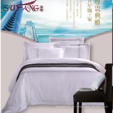 2017 hotel de lujo de 5 estrellas fábrica directamente alta 100% algodón 60s / 40s / 80s conjuntos de bordado