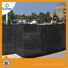New hdpe flat wire privacy safety fabric for road barrier