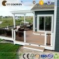 coffee outdoor terrace outdoor pvc decorative parquet flooring