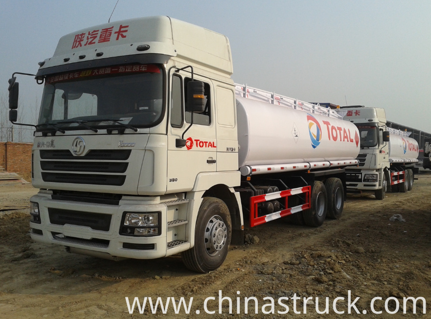 SHACMAN fuel refueling tank truck