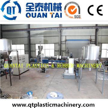 Gebrauchte Produktionslinie Kunststoff-Recycling-Maschinen für die Granulation