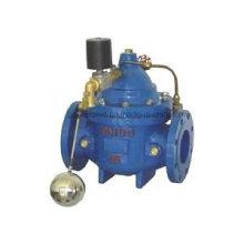 Válvula de control de flotador de agua remota eléctrica 106X