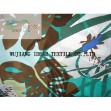 Printed Polyester Microfiber Satin Fabric
