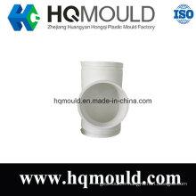 Moulage par injection en plastique de tuyau de Té de diamètre égal