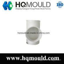 Equal Diameter Tee Pipe Plastic Injection Mould