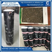 heating applied polyester reinforced SBS modified bituminous waterproof roll