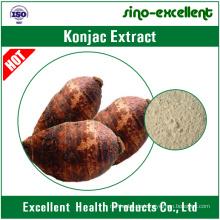 natürliches Konjac Extrakt feines Pulver