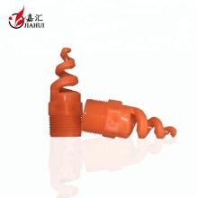 120 Grad Wasserspray Reinigung Kühlturm PVC-Spirale Düse