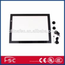 Tatouage de caisson lumineux d'alimentation Ultra mince Artcraft Tracing Board avec Led panneau acrylique