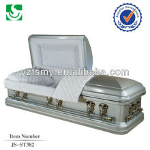 JS-ST382 luxury metal casket wholesale