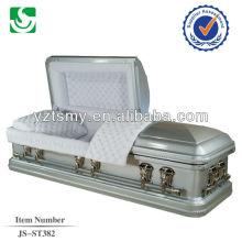 JS-ST382 de metal caixão de luxo por atacado