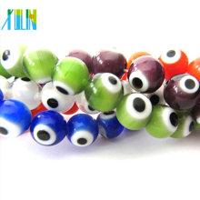 lucky eye turkey beads charming glass cuentas del mal de ojo
