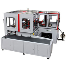 Case making machine for foldable box