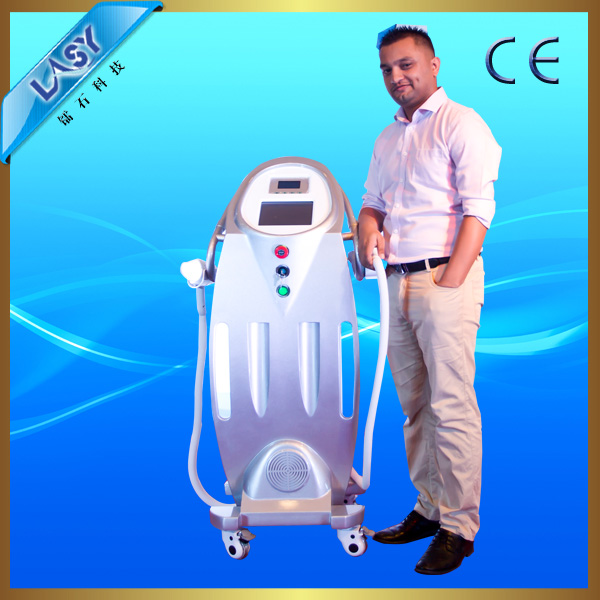 2017 innovation e-light ipl shr nd yag laser rf beauty machine with hair removal shr ipl