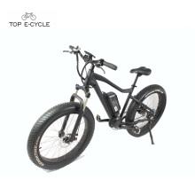 Einfache Fahrt mit Pedal fetten Reifen Berg Ebike Jagd elektrisches Fahrrad