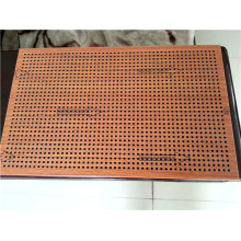 Wood Color Perforated Aluminium Ceiling Panels