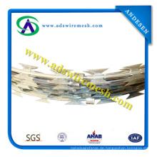 ISO9001 Galvanisierter Rasiermesser-Draht Bto-22 \ Cbt-65 \ Rasiermesser-Stacheldraht \ Concertina Rasiermesser-Draht