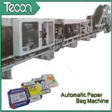 Sacos de papel de cimento de alta velocidade e totalmente automáticos