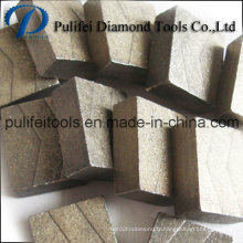Segment de coupe de bloc dur Rock Stone Tools Diamond Segment