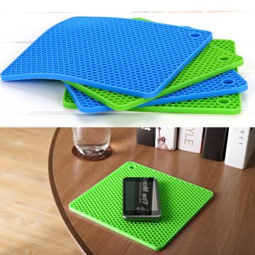 Chất lượng cao Silicone Mats Cup Glass Coaster