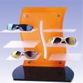 Estante de exhibición del estallido del estallido para el vidrio, estante de visualización del cristal de la publicidad