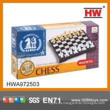 Juego de ajedrez personalizado magnético internacional plegable