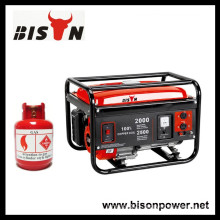 BISON(CHINA) New Technology Carburetor Reliable Methane Gas Generator