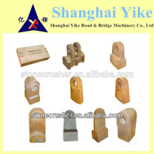 high chrome&high manganese hammer crusher spare parts hammer mill factory