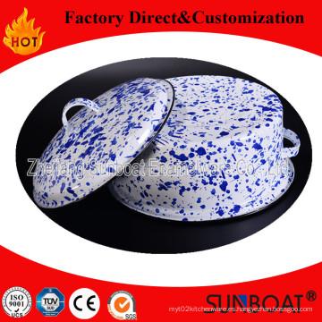 Cocina de inducción de gas Sunboat / Sopas de sopa de esmalte / olla de esmalte