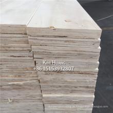 Madeira compensada estratificada da madeira compensada do folheado / LVL para a mobília / quadro de porta LVL