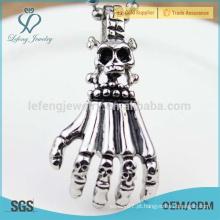 Moda homens águia garra pingente, pingente de prata esterlina jóias