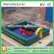 Good stable environment friendly Bull Ride Kiddie Amusement Park Rides For Sale