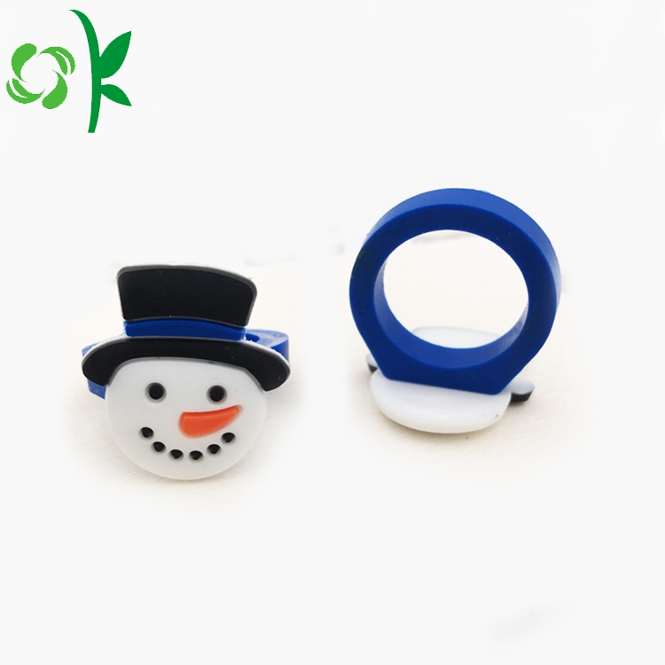 Snowman Silicone Ring