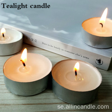 14g 50st Förpackning Tealight Candle For Kuwait