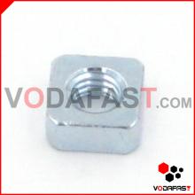 Stahl quadratische Mutter verzinkt