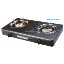 2 Burners Cast Iron High Pressure Gas Stove