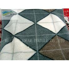 Tecido impresso PV Plush para têxteis-lar 037